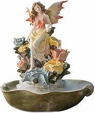 fontaine de table Creative ailé ange fontaines