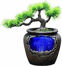 Fontaine de table d'intérieur Zen Méditation