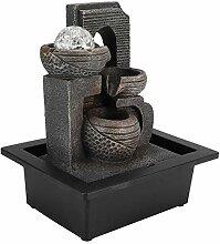 Fontaine de table, élégante boule de glace
