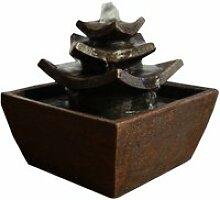 Fontaine déco intérieur temple tana maru