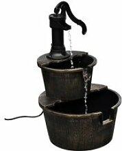 Fontaine design de pompe de puits 47x41x69cm