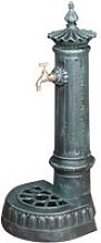 Fontaine en fonte au fini vert antique - G0833