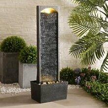 Fontaine extérieure jardin décoration chute