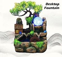 Fontaine Feng Shui cascade d'intérieur,