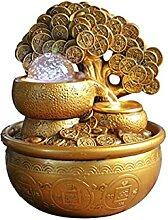Fontaine Interieur Cascade Gold Arbre Arbre