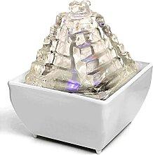 Fontaine Intérieur Fontaine de table USB LED de