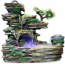 fontaine interieur Intérieur en pierre de