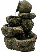 Fontaine intérieur nature jarre cascades hinato