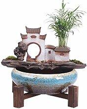 fontaine interieur Style chinois Céramique Zen