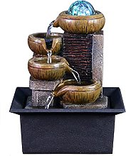 Fontaine Intérieur Tabletop Fountain Waterfall