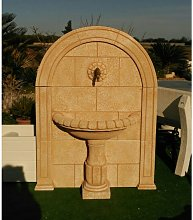 Fontaine jardin ANTARES 114X34X152cm. pierre