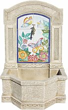 Fontaine jardin DELIA 71X45X109cm. pierre