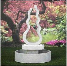 Fontaine jardin flamme 160 cm 21108
