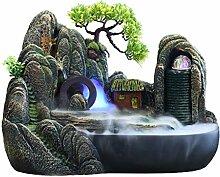 Fontaine Jardin Zen Rocaille Cascade Fontaine