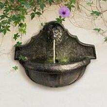 Fontaine murale d'extérieure de jardin à