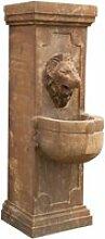 Fontaine murale en pierre l40xpr59xh125 cm