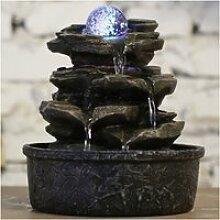 Fontaine nature rocher de maison kentami