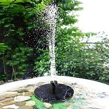 Fontaine solaire 2.5W, panneau solaire étanche,