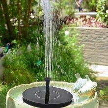 Fontaine solaire à pompe, fontaine à eau de