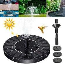 Fontaine solaire de jardin, dispositif de fontaine