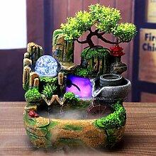 Fontaine table, Mini fontaine cascalumière