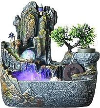 Fontaine Tabletop Fountain Rockery Cascade