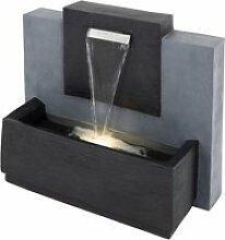 Fontaine womo-design anthracite, 80x39x35 cm, avec