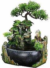 Fontaine Zen d'interieur de méditation
