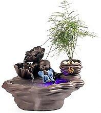 Fontaines d'eau intérieure Little Monk