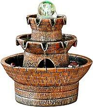 Fontaines d'eau intérieure Résine Tabletop