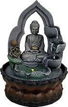 Fontaines d'intérieur Bouddha à 3 niveaux