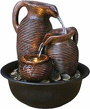 Fontaines d'intérieur Pot Antique Naturel