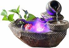 Fontaines d'intérieur Pot de fleur avec