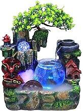 Fontaines d'intérieur Résine Mini réservoir