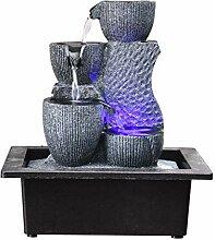 Fontaines d'intérieur Stacked Bowl Zen Indoor