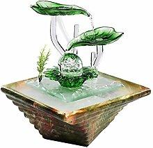Fontaines de table à cascade extérieure