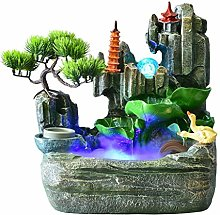 Fontaines décoratives Résine Rocaille Cascade