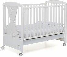 Foppapedretti Lit bébé blanc ludique