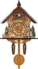 Forêt Noire Cuckoo Horloge Retro Nordic Style