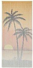 FOREVEN  Rideau de porte contre insectes Bambou 90