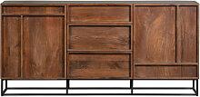Forrest - Buffet 2 portes 3 tiroirs en bois