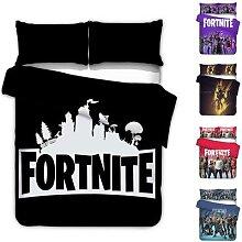 Fortnite – parure de lit Simple avec housse de