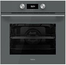 Four de cuisson à pyrolyse gris Teka