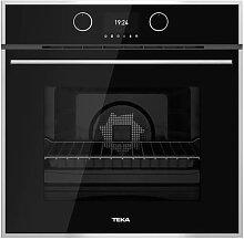 Four de cuisson à pyrolyse noir Teka