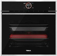 Four de cuisson verre noir avec cadre Teka