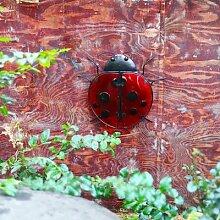 Fournitures de décoration de jardin, coccinelle