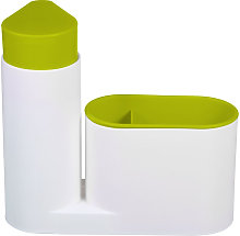 Fournitures de nettoyage de cuisine verte support