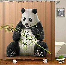 fptcustom Animal Mignon Panda Manger des Rideaux
