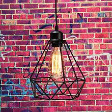 FR 15cm Abat-jour suspension vintage plafond lampe