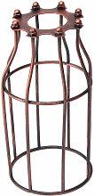 FR Vintage Industriel Abat-jour Cage Fer Pour